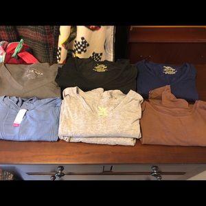 Tops - Longe Sleeve Scrub Shirts